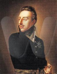 Gustav IV Adolf of Sweden. Painting by Per Krafft (the younger) in 1809.