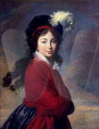 Portrait of Princess Juliane of Saxe-Coburg-Saalfeld (1795-1796)