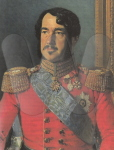 Prince William of Hesse (1787-1867). Early 19th century painting.