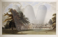 Royal Lodge, Windsor Great Park, in 1827